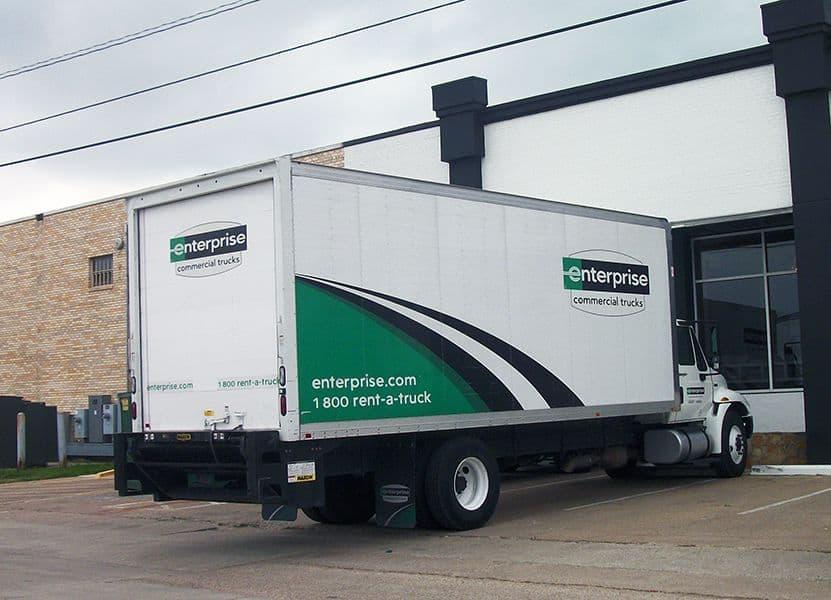 commercial trucks mobile billboards
