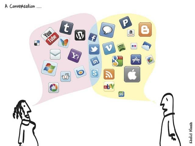 why your small business can't shy away from social media