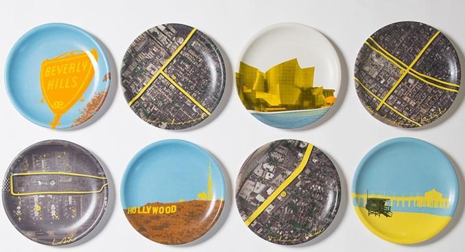 restaurants can teach us about creative advertising - plate designs lemonade