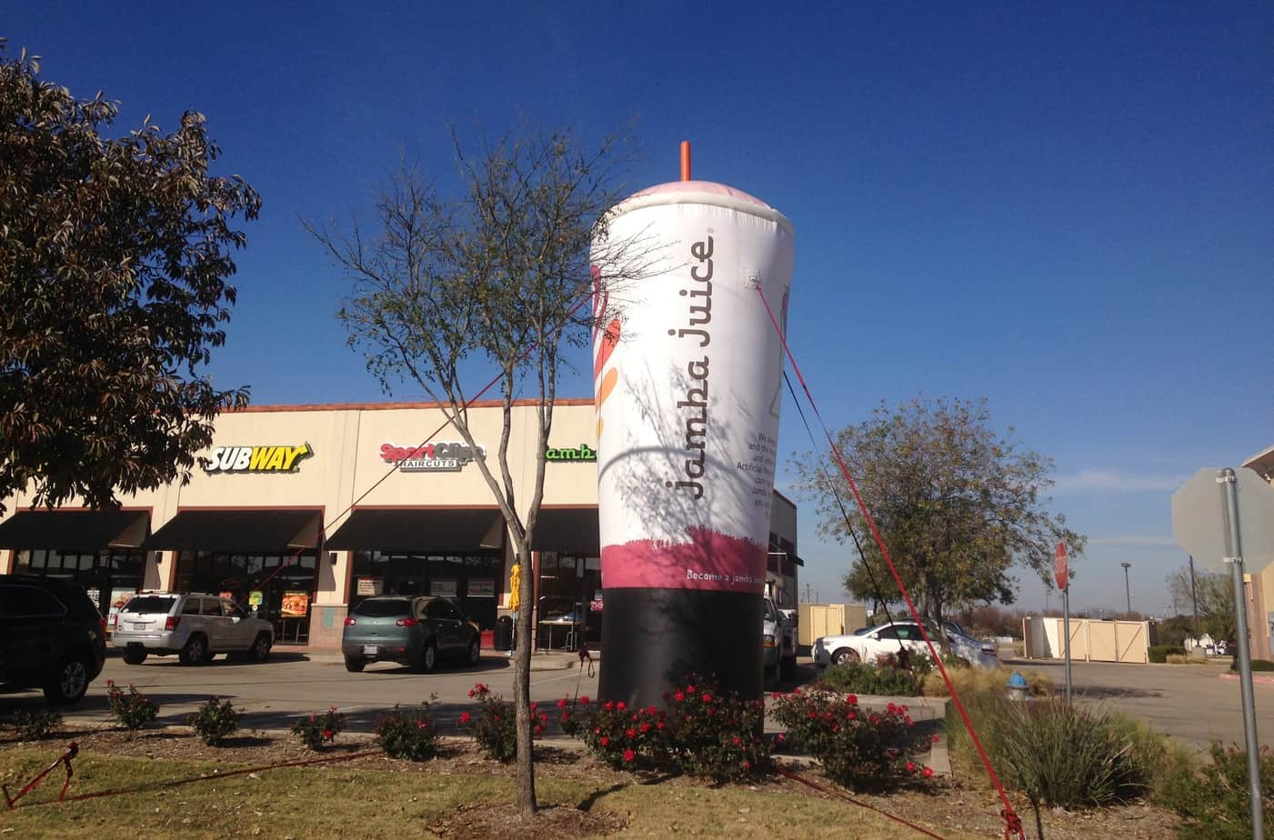 advertising budgets should shift to inflatable advertising