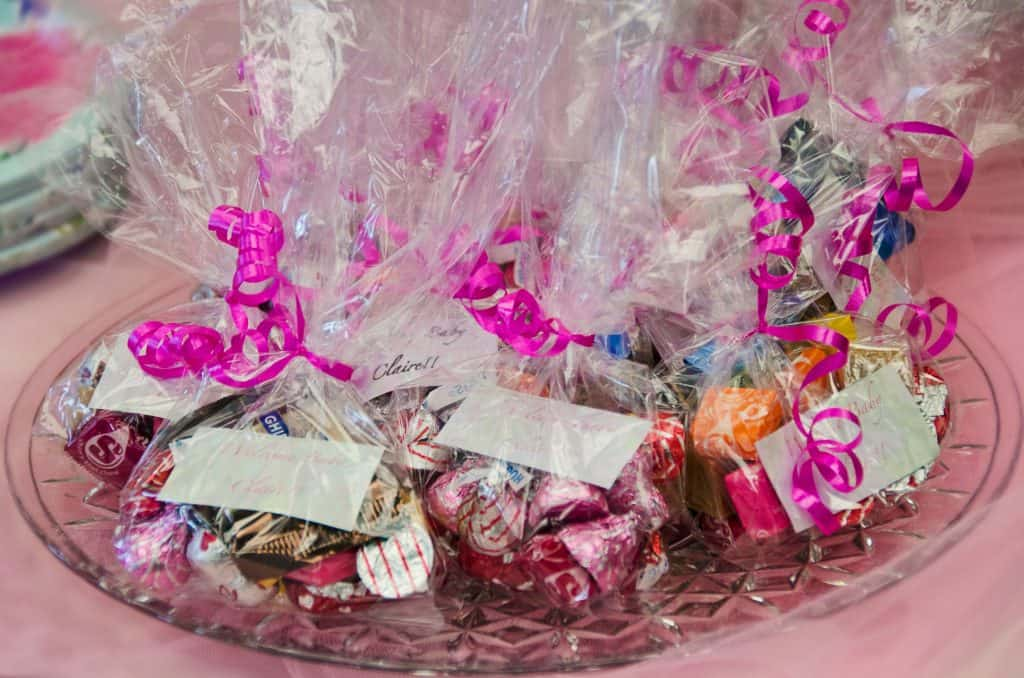 grand opening ideas treat bags