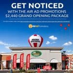 Announcing the First Air Ad Promotions Grand Opening Giveaway