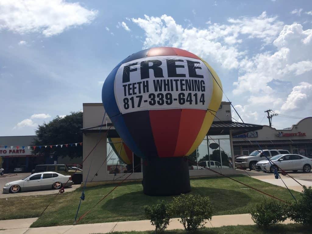 increase customer loyalty advertising balloons