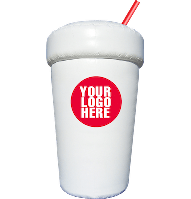 custom inflatables drink cup