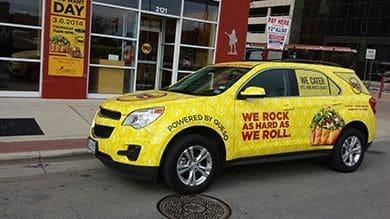 long lasting vehicle advertising