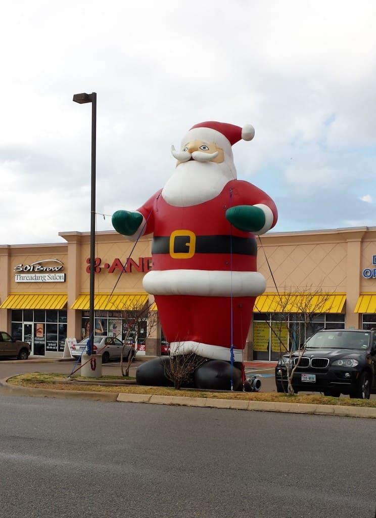 seasonal custom shaped inflatable
