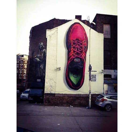 grass roots ideas street art
