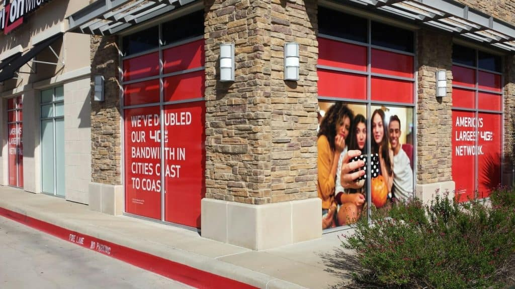 window graphics for year end marketing budget