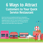[Infographic] 6 Ways to Attract Customers to Your Quick Service Restaurant