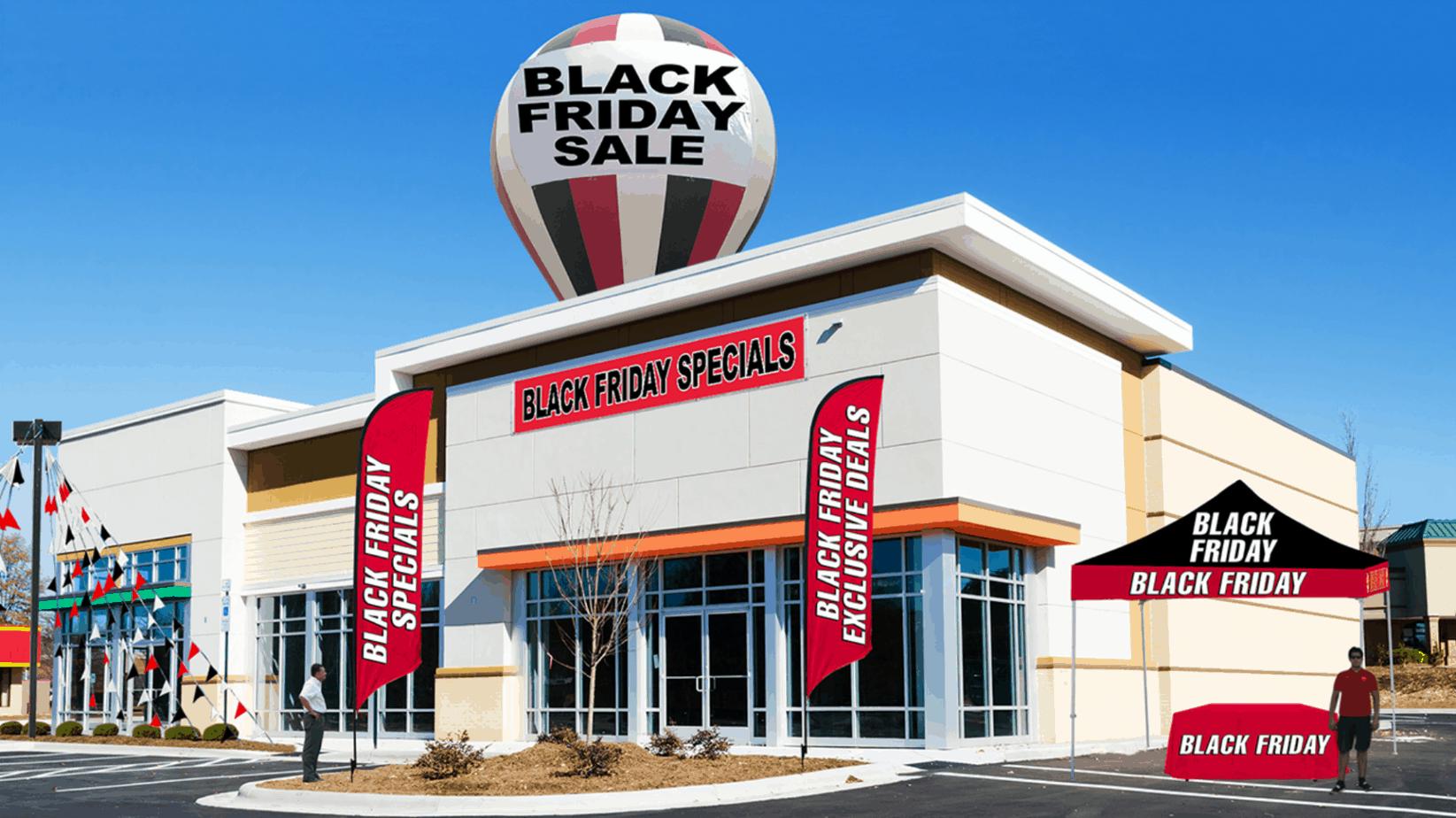 black friday store image