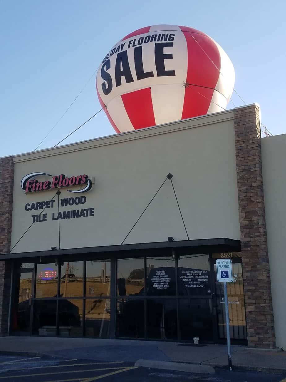 holiday and seasonal marketing advertising balloon
