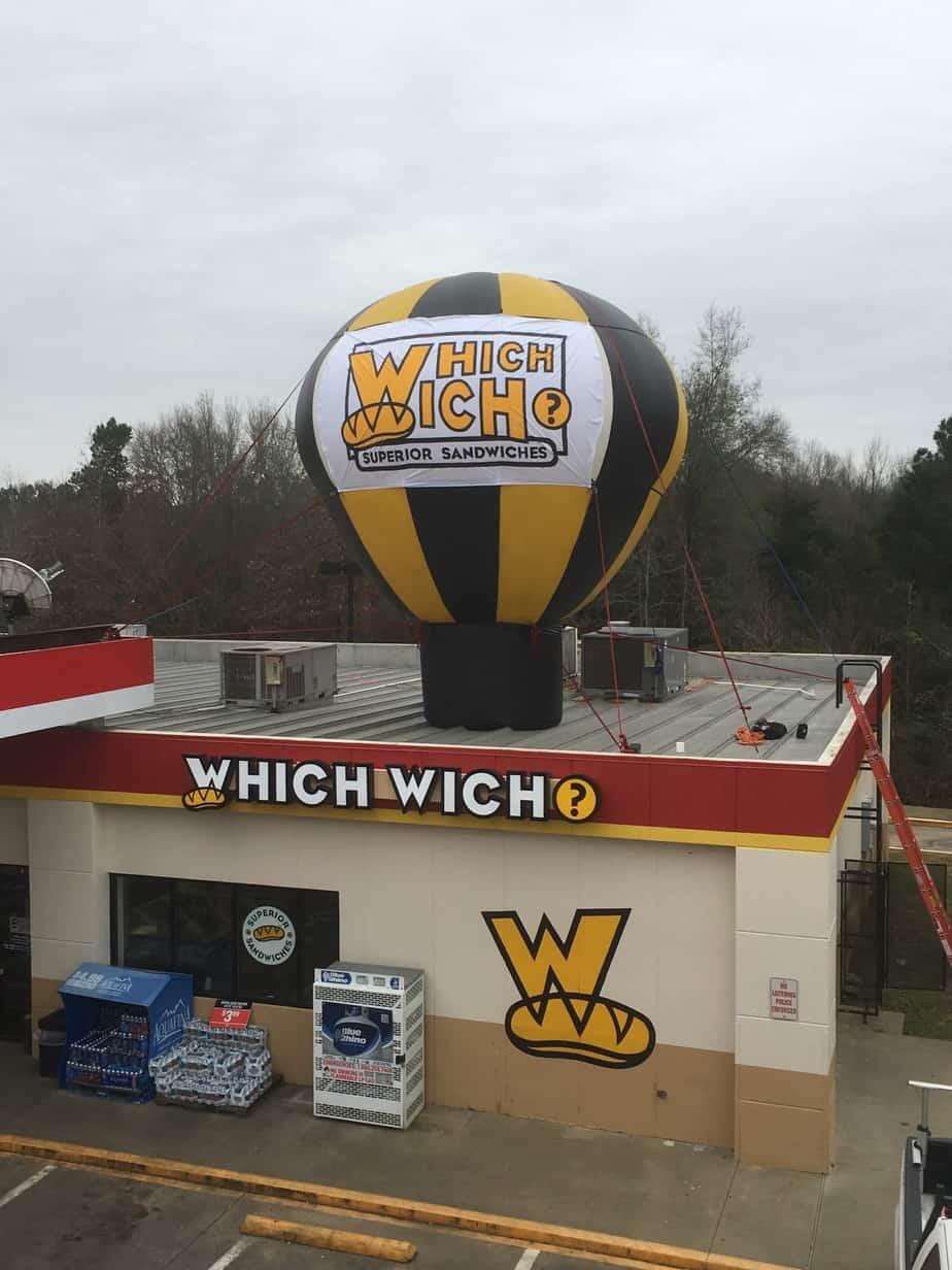 advertising examples advertising balloons