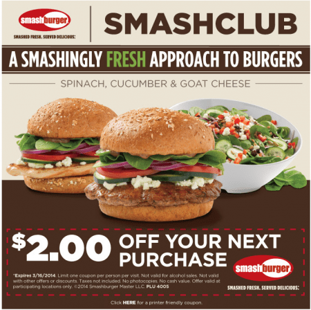 online and offline advertising work together burger coupon