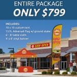 Summer Time Package Special from Air Ad Promotions