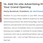 Air Ad Promotions Featured on Fit Small Business