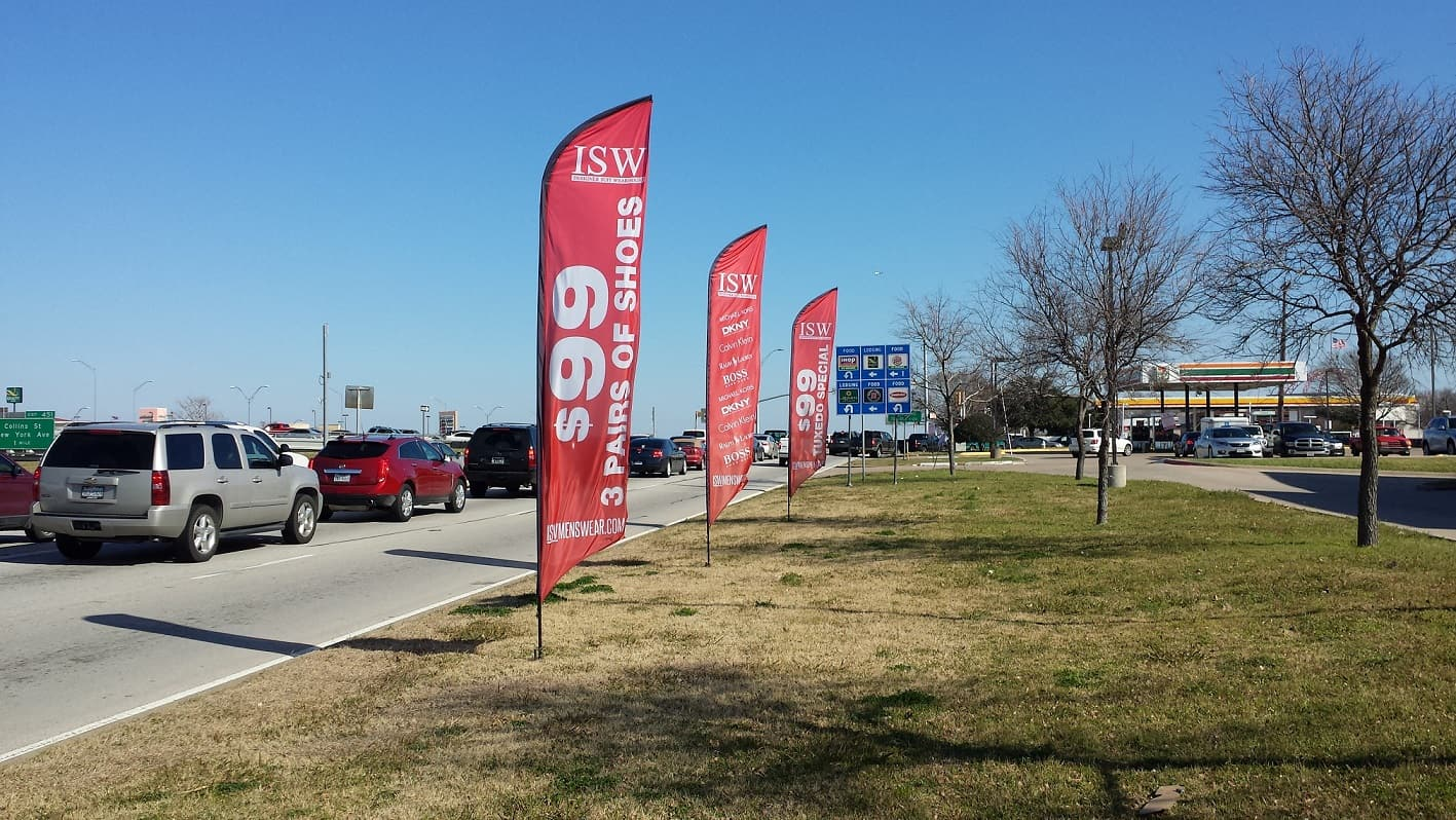 lto promotion advertising flags